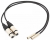 BLACKMAGIC DESIGN Cabos Audio 2X Mini XLR-XLR