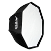 GODOX Softbox Octogonal Guarda-Chuva Bowens (80cm) + Grelha