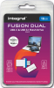 INTEGRAL Pen USB-C + USB 3.1 Fusion Dual 16GB (destock)
