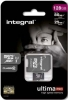 INTEGRAL Cartão Micro SDXC Ultima Pro 128GB (80/25MB)(Class 10) +Adapt