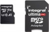 INTEGRAL Cartão Micro SDXC Ultima Pro U3 256GB (100MB/s) +Adapt