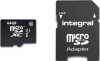 INTEGRAL Cartão Micro SDXC Ultima Pro 64GB (90MB/s) (Class 10) + Adapt
