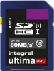 INTEGRAL Cartão SDHC Ultima Pro 8GB (80MB/s) (Class 10)