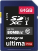 INTEGRAL Cartão SDXC Ultima Pro 64GB (80MB/s) (Class 10)