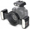 MEIKE Kit Flash Macro MK-MT24 TTL para Sony