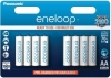 PANASONIC Eneloop 8 Baterias LR6 (AA) 1900mAh (Ready to use)