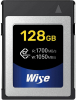 WISE Cartão CFexpress R1700/W1050 Mb/s 128Gb