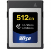 WISE Cartão CFexpress R1700/W1550 Mb/s 512Gb